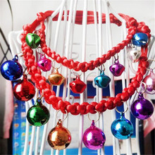 2017 Small/Big Super Fashion Cute Dress Bells Up All-match Adjustable Pet Pendant Necklace 30% OFF(China)