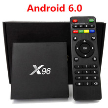 X96 Android 6.0 TV Box 2G/16G Amlogic S905X Set-top TV Box Quad Core KDi 16.1 Full Loaded 4K WiFi HD 1080i/P Smart Media Player