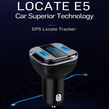 XUNMA Car Phone Charger Multi-function Satellite Positioning GPS Position LED Display Screen Car Charger for Mobile Phones(China)