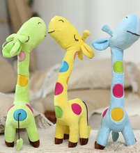 Plush toys cartoon giraffe plush doll large New Year's gift for children