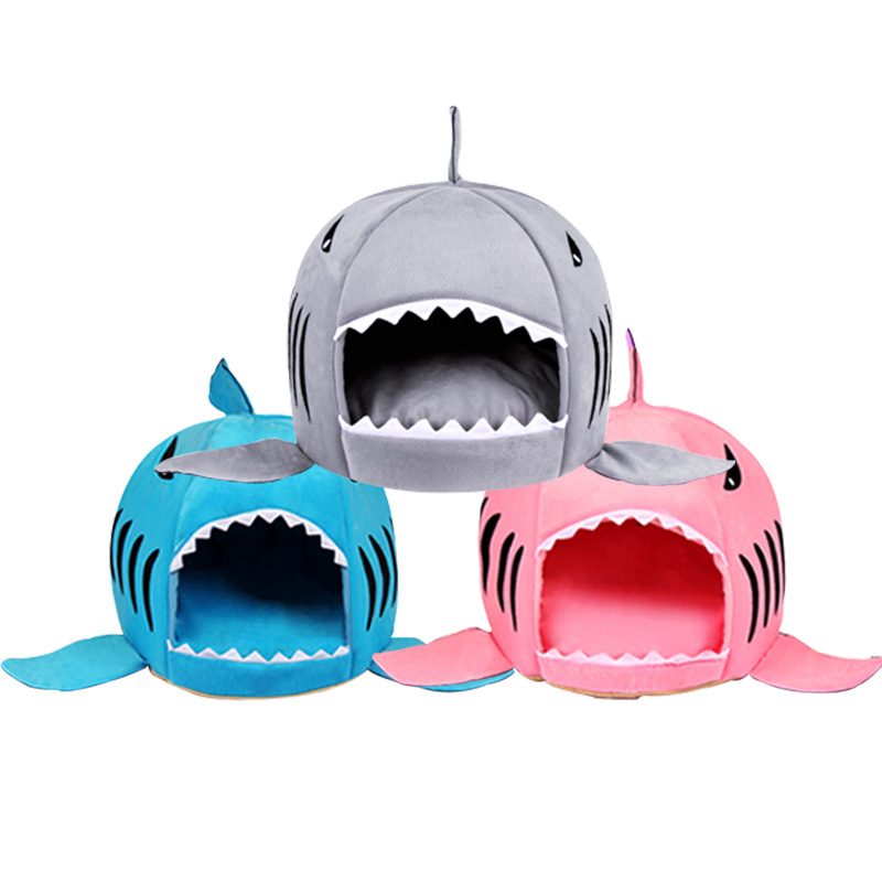 Soft Dog House For Large Dogs Warm Shark Dog House Tent High Quality Small Cat Bed ...  sc 1 st  kitchen tools home tools house u0026garden tools pets tools & kitchen tools home tools house u0026garden tools pets tools