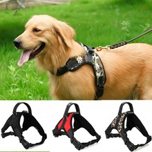Tailup Pet Dog Reflective Vest Collar Harness Padded Dog Harness Easy Walk Large Dog Vest Harness Pet Collar