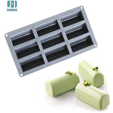 1PCS Silicone Roll Non-Stick Mold Log Delicate Chocolate Desserts Twinkie Tea-time Cake Polvoron Filipino Candy Pastries Molds
