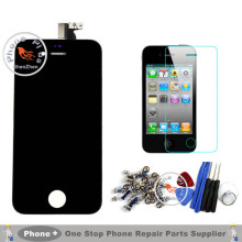 A+++ Quality For Apple iPhone 4S 4 4G 5 5G 5S 5C 6 LCD Display Touch Screen Digitizer Assembly+Tempered Glass+Tools+Full Screws