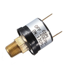 DIY 12V 3.5A Trumpet Train Horn Air Compressor Pressure Switch Rated 170-200 PSI Popular