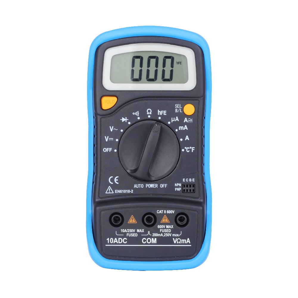 Free shipping ADM02plus automatic range digital multimeter voltage current resistance temperature  tester <br><br>Aliexpress