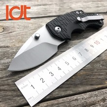 LDT 3800 Folding Knife 7Cr13Mov Blade Nylon Fiber Handle Camping Hunting Tactical 1830 Knives Outdoor Survival Pocket EDC Tools