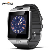 Hiwego Brand Smart Watch DZ09 With Sim Card Slot Push Message Bluetooth Connectivity Android Phone Smartwatch Men Watch Camera(China)