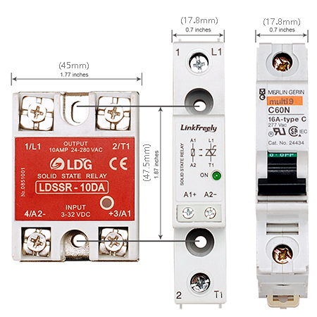 TR AC solid state relay 450 2