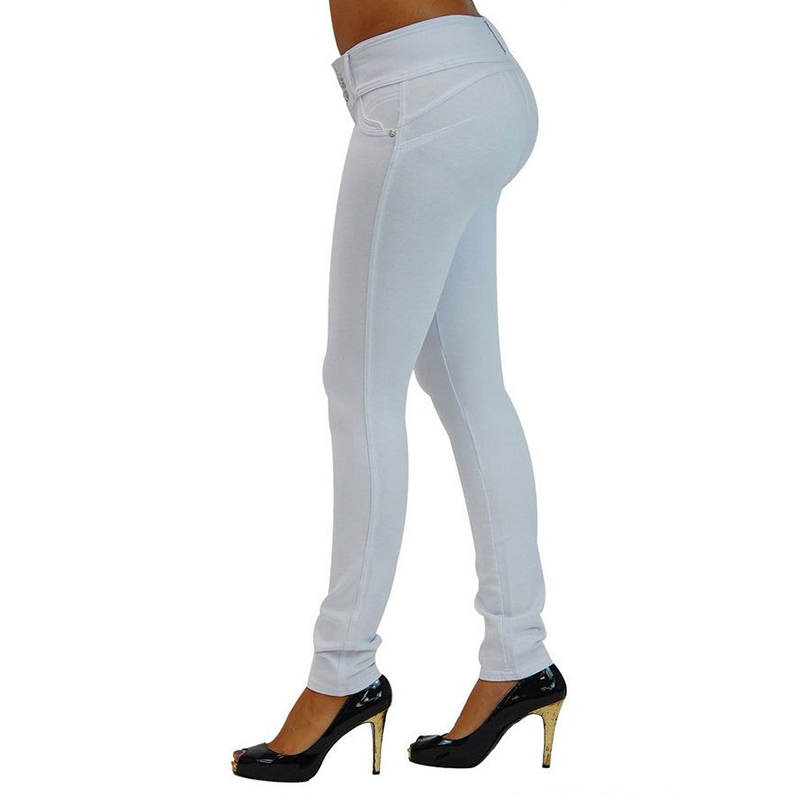 Sexy Push Up Leggings, Women's Denim Leggings, Casual Elastic Jeggings 20