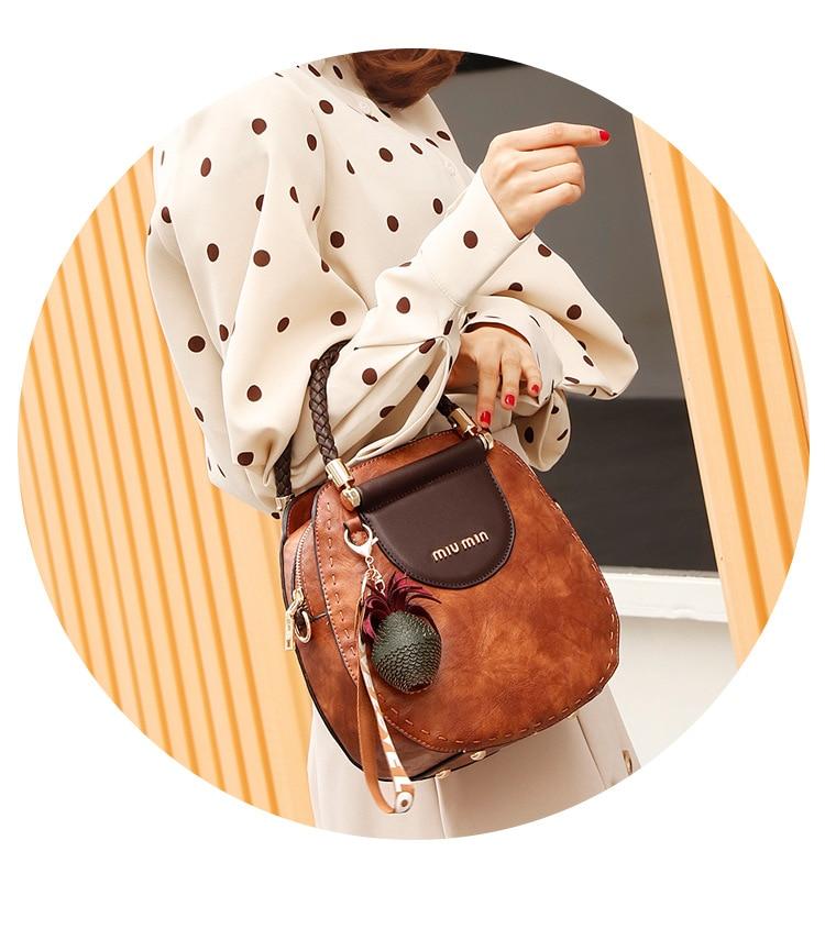 CHISPAULO Brand PU leather Handbags   Messenger Bag 13