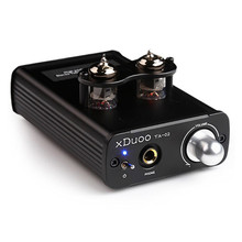 Original XDUOO TA-02 6J1 x 2 Hifi Audio Stereo Vacuum Tube Headphone Amplifier Dual Tube Power Amplifier Class A Buffer Amp