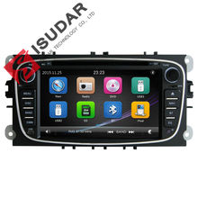 2 Din 7 Inch Car DVD Player For FORD/Mondeo/S-MAX/Connect/Galaxy/FOCUS 2 2008-2011 3G Host Radio GPS Navi BT 1080P Ipod Map(China)