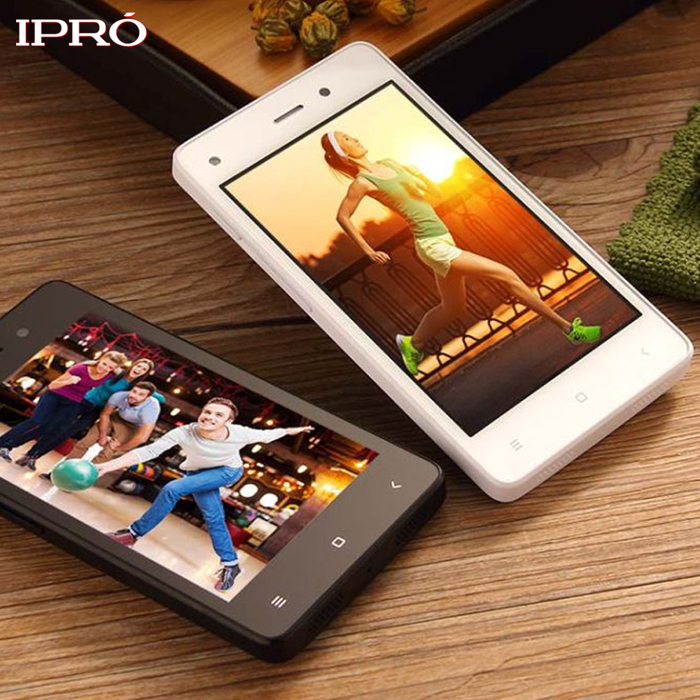 Cheapest Smartphone IPRO WAVE 4.0 II 4.0 Inch Quad Core Celular Unlocked Mobile Phone 512M RAM 4GB ROM Dual SIM Cell Phone(China)