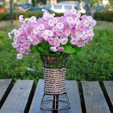 The Leaf Of Hyacinth Artificial Flower Plant Flowers Green grass flower for home decoration