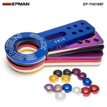 EPMAN - Anodized Universal Front Tow Hook Billet Aluminum Towing Kit For JDM Racing EP-TH0185F