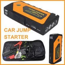 12V Multi-Function Mini Portable Car Jump Starter car Jumper Booster Mobile Emergency Battery emergency power supply 4USB(China)