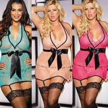 Free Shipping New Arrival Sexy See Through Badydoll Plus Size Lingerie 3F66715 Hot Sale Sexy Transparent Babydoll(China)