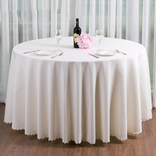 Romantic Gorgeous white Pure polyester Table covers for Rustic Weddings Pink Table cloth Settings Birthday Party Suppliers