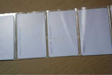 CR80 Standard Size EPC gen2 Long Range Passive Blank White PVC RFID Card UHF RFID Tag with Alien Higgs3 Chip