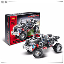 141 pieces Model Building Kits ATV Building Block Baby Boy Building Model  Vehicle Block Jeep juggle Toy bricks N3342
