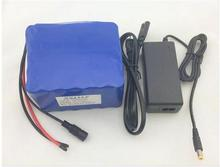 24 V 10ah 6s5p 18650rechargeable Li ion battery 25.2 V10000MAH moped electric bicycle / Electric battery pack +Charger 25.2 V 2A