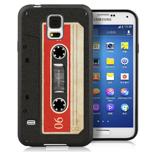 Retro Tape 90s Soft Rubber Cell Phone Cases Bags For Samsung S3 S4 S5 S6 S7 edge plus Note 2 Note 3 Note 4 Note 5 Back Cover
