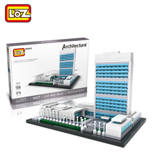 LOZ Mini Blocks United Nation Headquarters World Famous Architecture Model Toy United Nation Headquarters Model Ages 14+