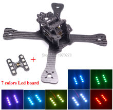 Mini 210mm 210 Cross Racing Quadcopter pure Carbon Fiber Frame + Chimp LED Board Light Lamp Spare Part for GEPRC GEP-TX QAV-X