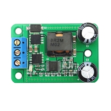 24V/12V To 5V/5A 25W DC-DC Buck Step Down Power Supply Module Synchronous Rectification Power Converter Replace LM2596S