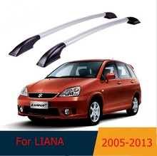 For Suzuki LIANA 2005-2013  roof racks Aluminum roof boxes easy install Without drilling Luggage rack AUTO refit
