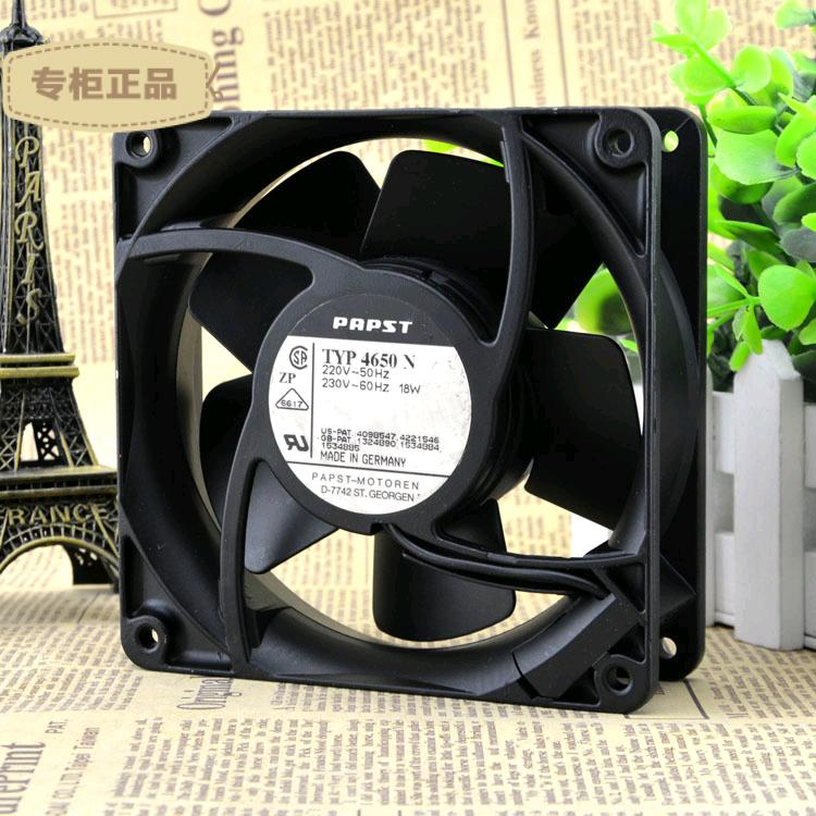 Free Delivery. 12038 original TYP4650N 220 v 18 w all metal high temperature cooling fans<br>