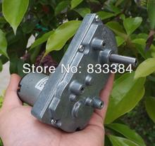 TSUKASA Metal gear motor 6v12V 24V DC gear motor high torque low noise genrator motor Free shipping(China)
