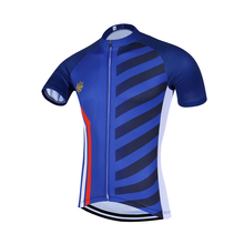 2017 QKI France National Short Sleeves Cycling Jersey Cycling Shirt Maillot Cycling Clothing Wear Ropa Ciclismo(China)