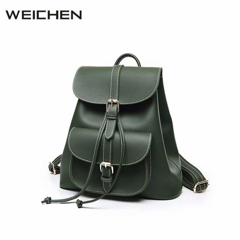 Backpacks for Teenage Girls 2017 Autumn Winter Ladies Back Pack Bag Fashion Red Leather Womens Shoulder Bag Women School Bag<br>