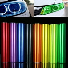 30cm*1m Auto Car Sticker Smoke Fog Light HeadLight Taillight Tint Vinyl Film Sheet all colors available car decoration decals