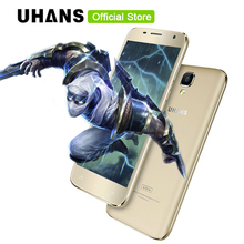 UHANS A101S Mobile Phone 5 Inch HD 1280x720 IPS MTK6580 Quad Core Android 6.0 2GB RAM 16GB ROM 8MP CAM 3G WCDMA Dual Sim