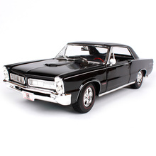 Maisto 1:18 1965 Pontiac GTO(Hurst Edition) Muscle Old Car model Diecast Model Car Toy New In Box Free Shipping 31885