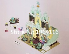 New SY371 Friends Series the Arendelle Castle Celebration Model Building Blocks Compatible 41068 Classic toys for children