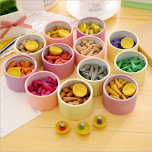 [4Y4A] 1 box Floral fragrance incense indoor indoors aroma essential oil dish fragrant sandalwood(China)