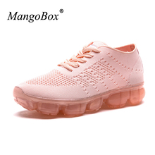 MangoBox Sport Trainers Women 2017 New Girls Athletic Shoes Breathable Running Shoes For Women Summer Jogging Shoes For Womens(China)