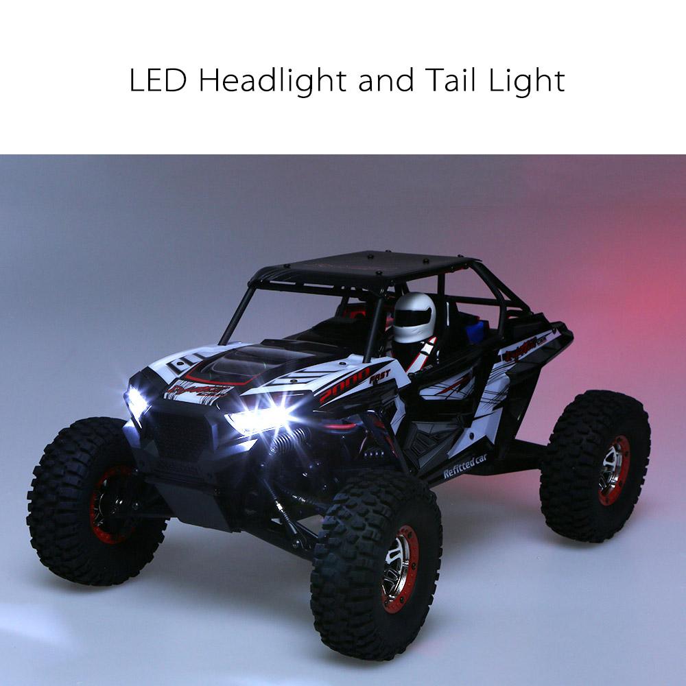 Remote Control Off-road Car Vehicles SUV 10428-B2 110 2.4G 4WD Electric Rock Crawler Buggy Desert Baja RC Cars RTR Boys Toys (3)
