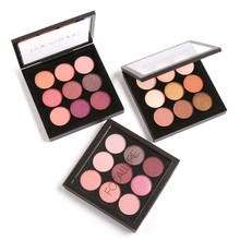 Focallure Eyeshadow Makeup Palette 9 Colors Matte Ultra Shimmer Glitter Powder Highly Pigmented Pro Warm Eye Shadow Makeup Set