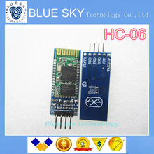 new 1PCS/LOT HC-06 Wireless Serial 4 Pin Bluetooth RF Transceiver Module RS232 TTL for Arduino
