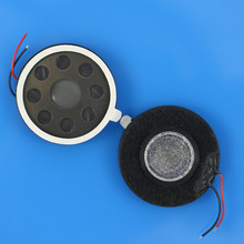 1PCS Round Loud speaker ringer buzzer microphone replacement parts for cell phone. 26mm(China)