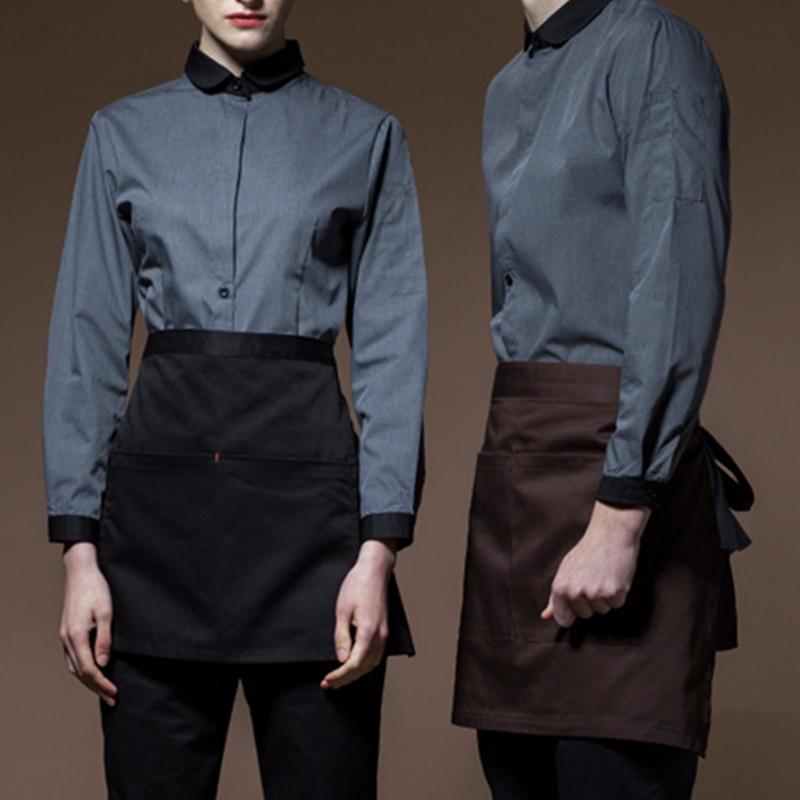 Long Sleeve Hospitality Work Wear D84-3