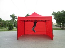 DANCHEL Gazeble 2X2 2x3 3x3 3x Meters Commercial Folding Tent with Three Wall Portable Event Canopy Tent, Can be Custom