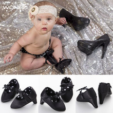 Wonbo Newborn Baby Girsl Princess Fashion Sweet Lovely Infant Toddler First Walkers Shoes Crib Prewalker Bow High Heels 0-1T(China)