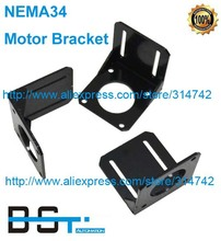 NEMA 34 Steppr Motor Accessories Bracket Support Shelf Mounting L Bracket Mount Step Stepping Stepper Motor(China)