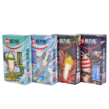 Buy 3PCS Dotted Thread Ribbed G Point Latex Condoms Contraceptives Big Particle Spike Condom Men Sex Products